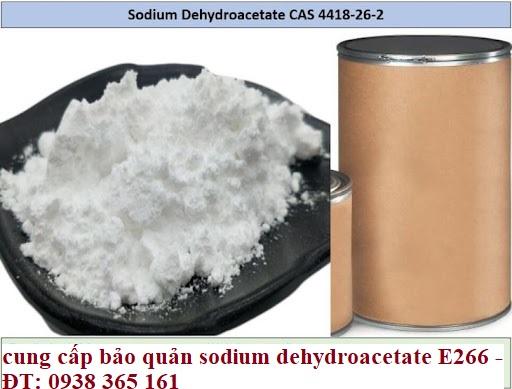 Bảo quản sodium dehydroacetate