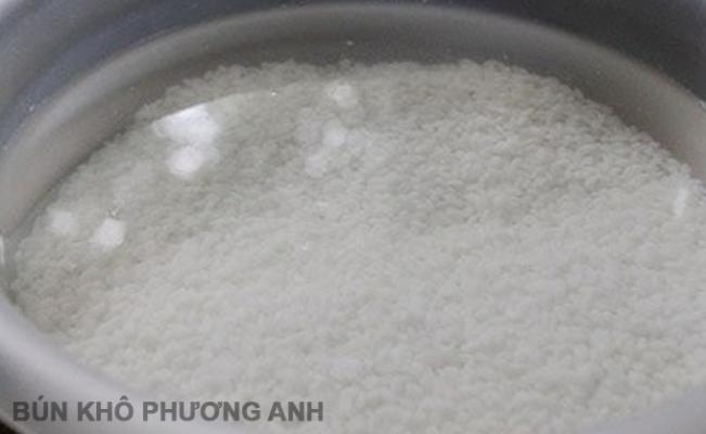 Quy trình sản xuất chuẩn bún khô Bình Định, dai ngon khó cưỡng