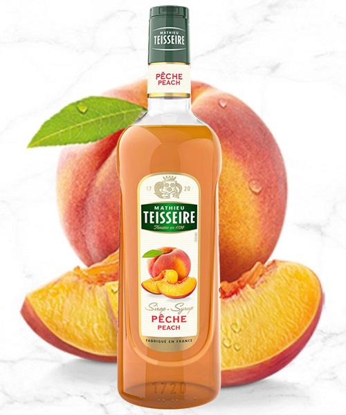 TEISSEIRE Đào - Peach 700ml ( Mua 6 Chai Giảm 5k )