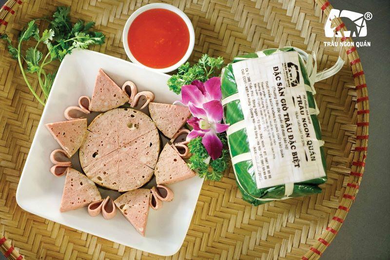 """Đặc sản giò trâu """"giật"""" - vẹn nguyên hương vị truyền thống   Trâu Ngon Quán"""