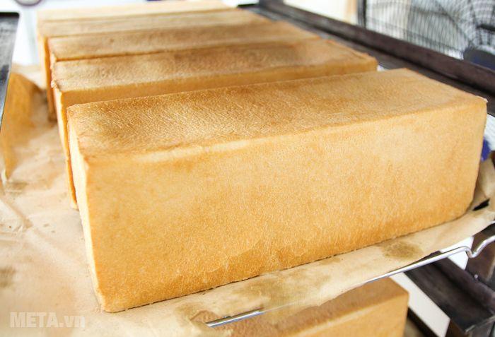 Thành phẩm bánh mì sandwich đã làm thành công