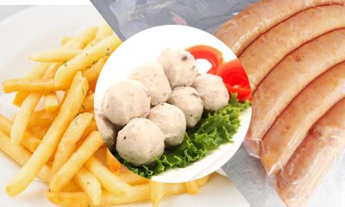 Chuyên cung cấp khoai tây đông lạnh, cá viên tôm viên xúc xích - MinhHuy  Foods » 0336316194