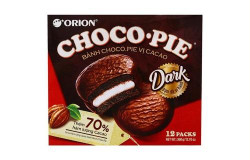 Bánh Choco Pie Cacao 360g, bảng giá 9/2021
