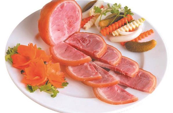 Cách làm giò dăm bông thịt nguội ngon đơn giản tại nhà - Khói Bếp