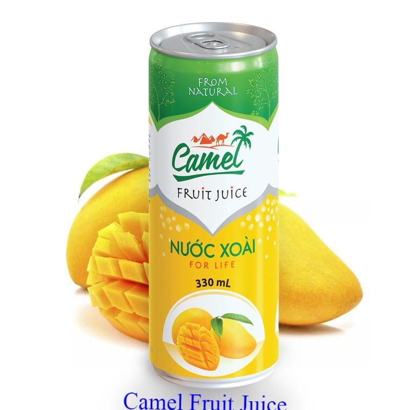 Camel Nước ép xoài lon 330ml Camel Fruit Juice