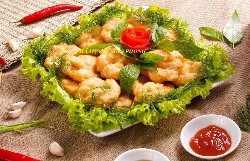 Chả mực Quảng Ninh - thương hiệu uy tín Quang Phong