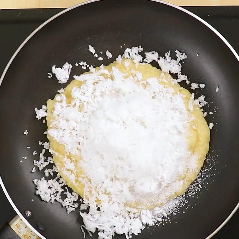 Bước 1 Làm nhân đậu xanh bánh xu xê Bánh xu xê truyền thống