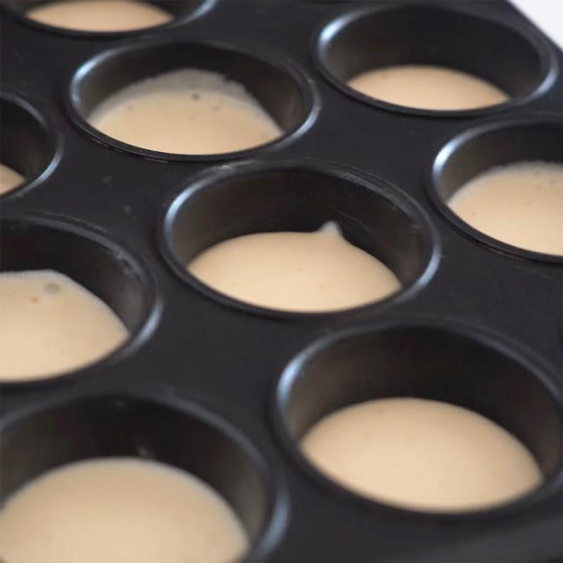 Bước 3 Nướng bánh Bánh custard nhân kem sữa