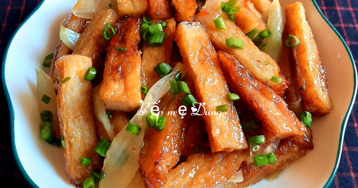 Cách Làm Món Chả cá chiên nước mắm của Kim Dung . - Cookpad