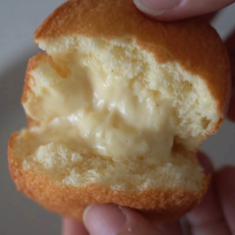 Bước 6 Thành phẩm Bánh custard nhân kem sữa