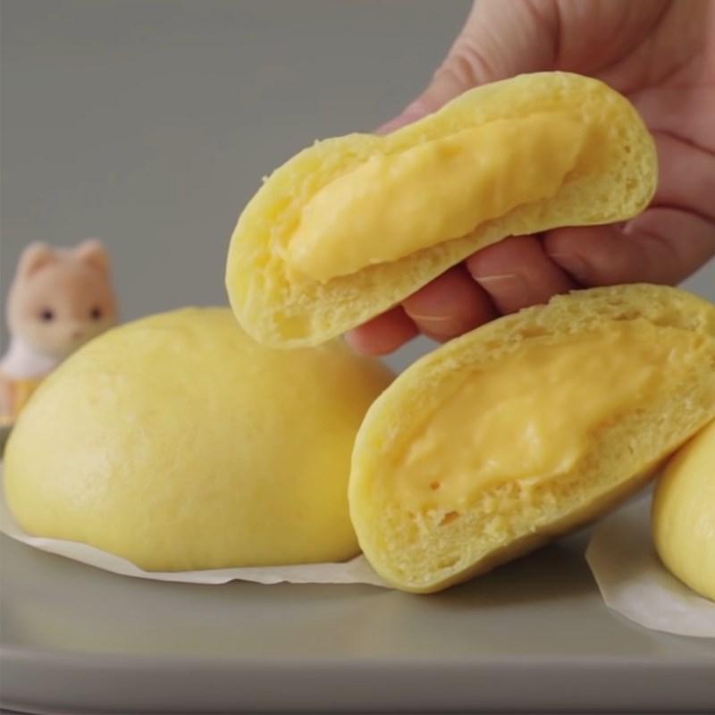 Bước 7 Thành phẩm Bánh bao nhân custard chuối