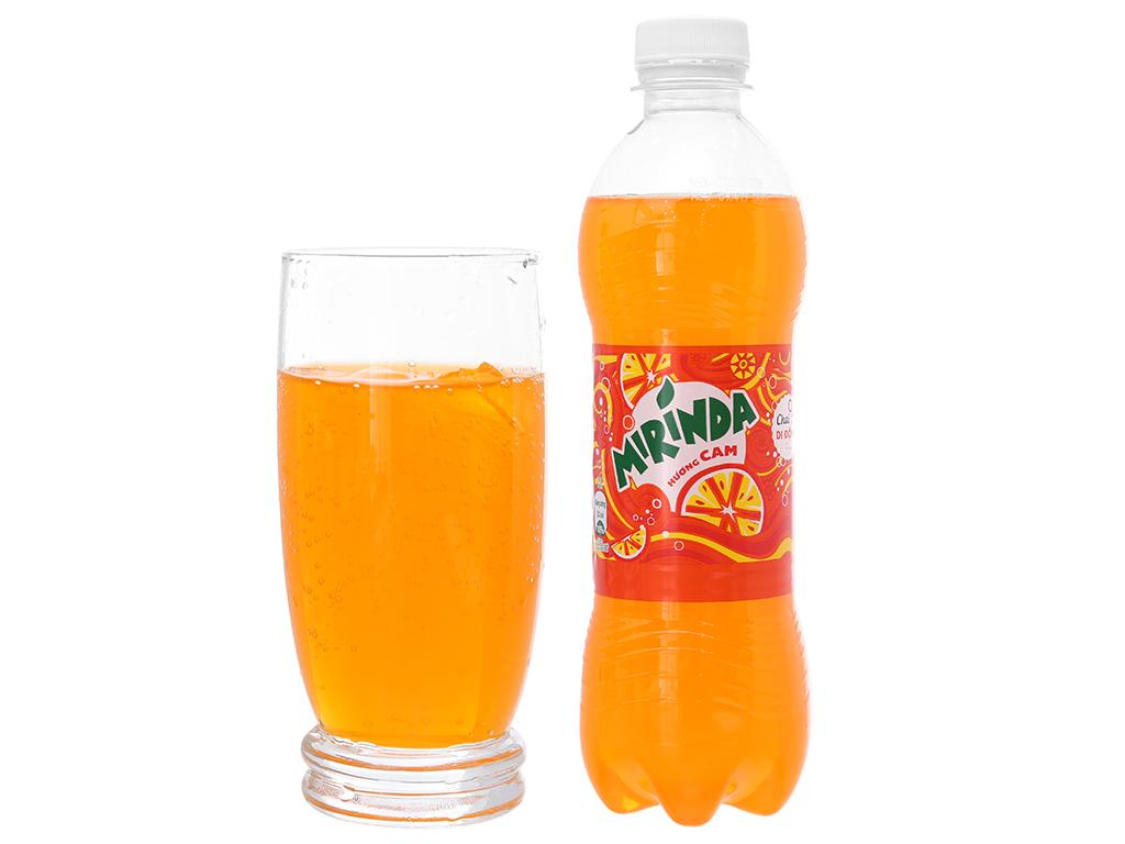 Nước ngọt Mirinda cam chai 390ml