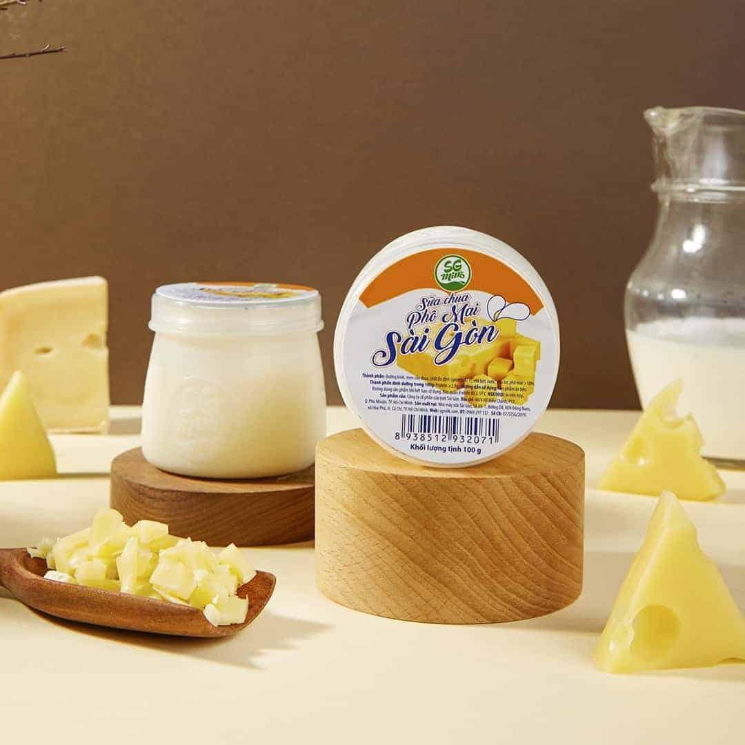 Sữa chua Phô Mai Sài Gòn – SGMILK