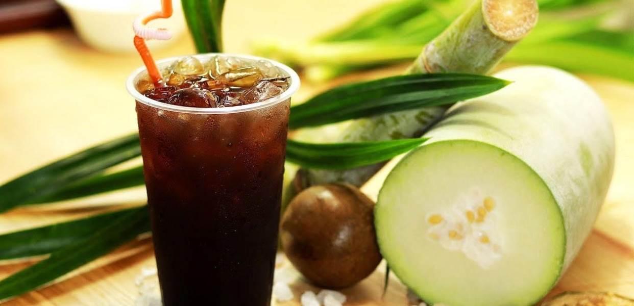 Uống trà bí đao mát gan, giảm cân, thanh nhiệt cơ thể