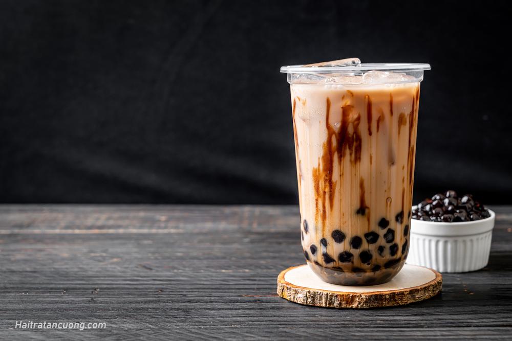 Hướng dẫn cách làm trà sữa trân châu đường đen đơn giản