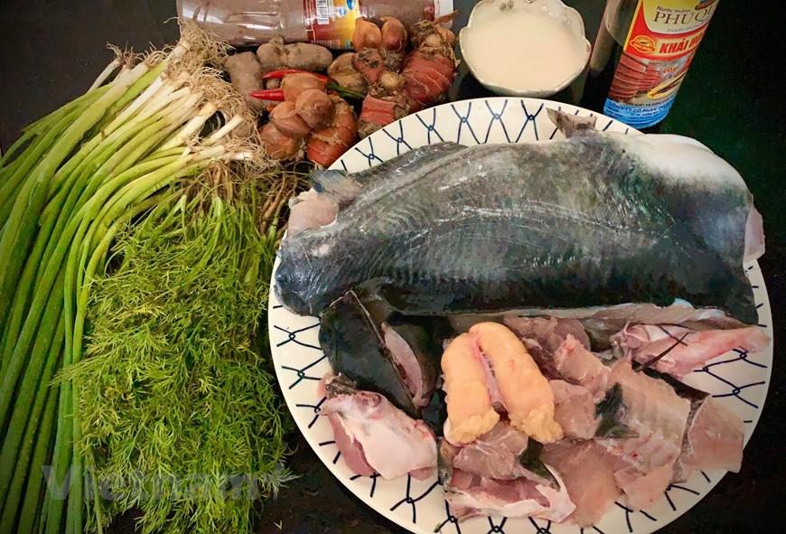 Photo] Hướng dẫn cách làm món chả cá Lã Vọng nức tiếng đất Kinh kỳ | Ẩm  thực | Vietnam+ (VietnamPlus)